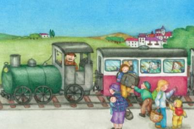 Cuentos de trenes para niños