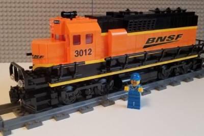 Tren de juguete de Lego