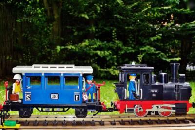 Tren de juguete de Playmobil